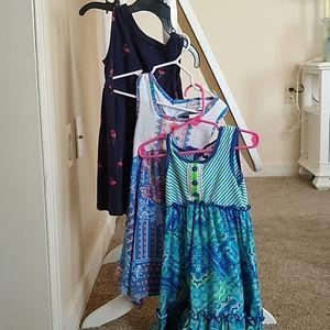 Toddler Girls 3T Sleeveless Dresses Bundle